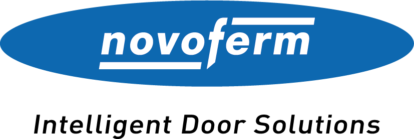 Logotyp Novoferm - Intelligent Doors Solutions