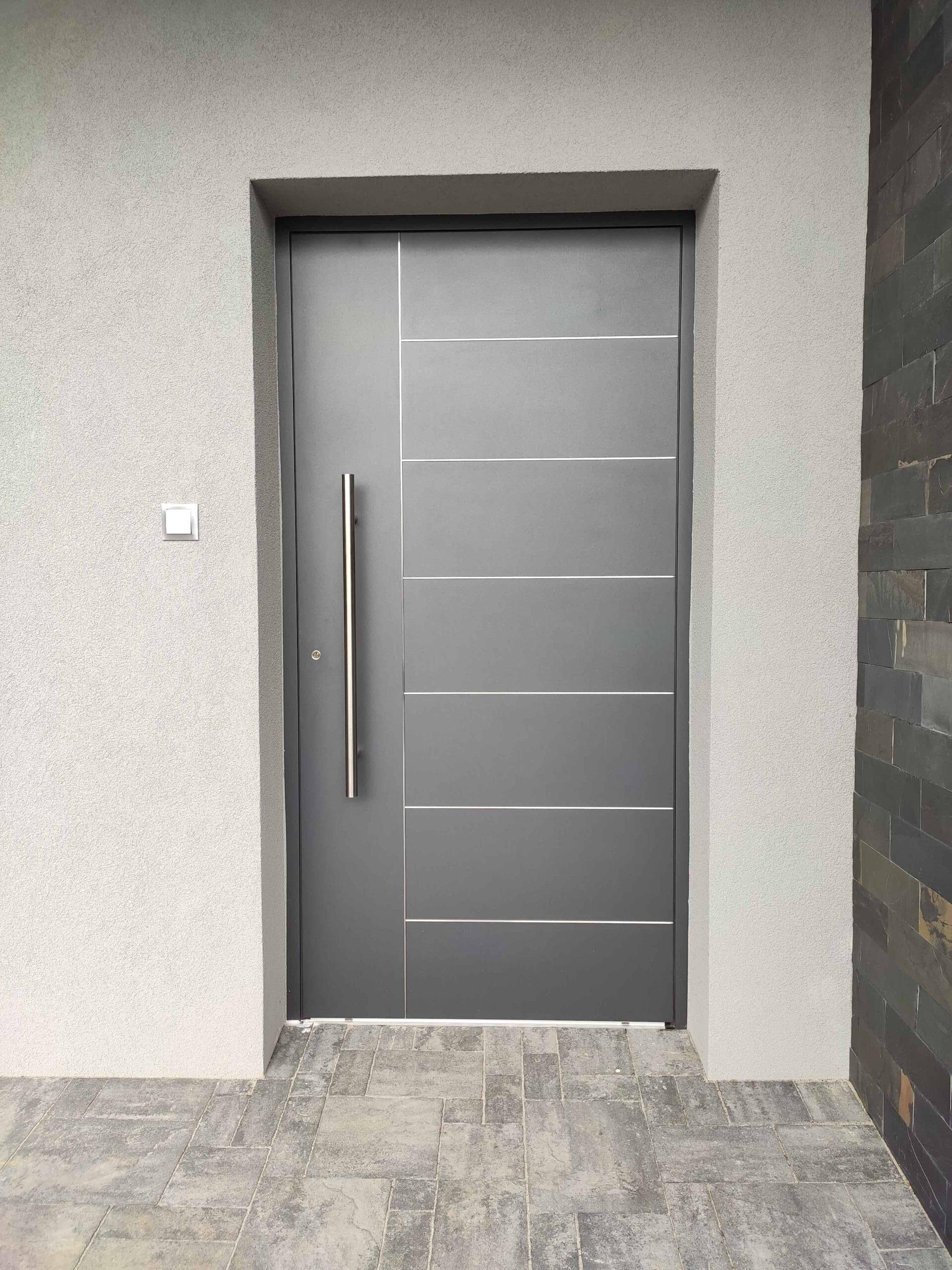 Drzwi Elite, kolor Grau Grunge