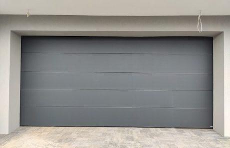 Satin dark grey, brama Novoferm ISO45