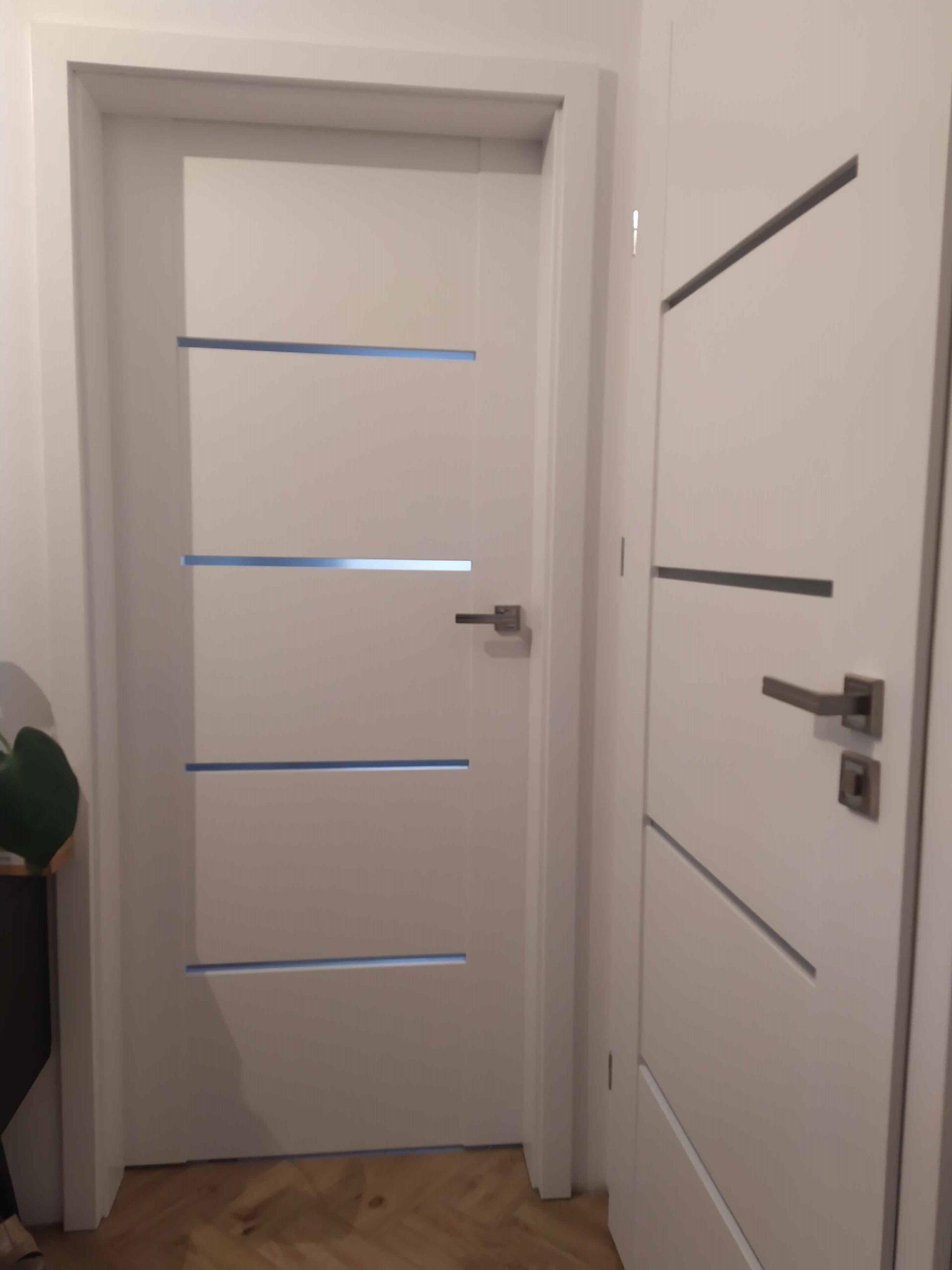 Drzwi wewnętrzne Voster białe